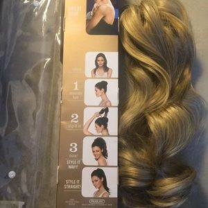 18inch wavy pony tail hair extensions